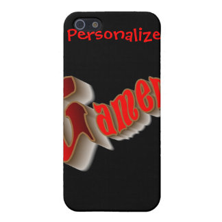 PERSONALIZE GAMERS iPhone 5/5S COVERS