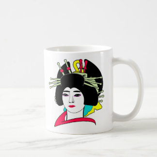 PERSONALIZE GEISHA MOTHER'S DAY CLASSIC WHITE COFFEE MUG