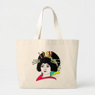 Personalize Geisha  Tote Bag