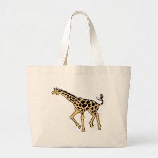 Personalize Girafe Tote Bag