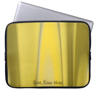 Personalize Golden Light Design Laptop Sleeve
