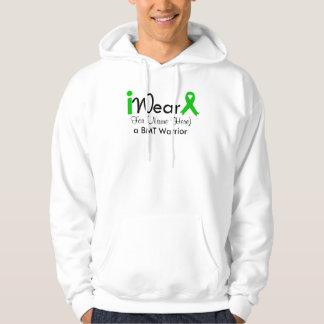 Personalize Green Ribbon Bone Marrow Transplant Pullover