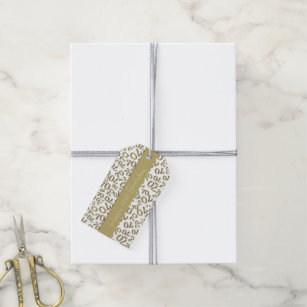 gold template gift tags gift enclosures zazzle