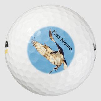 Personalize hawk osprey Golf Balls Pack Of Golf Balls