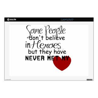 Personalize Hero Gift Laptop Skin