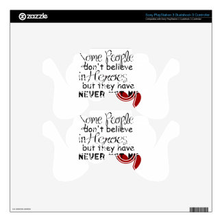 Personalize Hero Gift PS3 Controller Skins