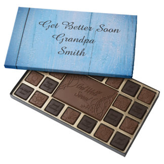 Personalize His Name - Get Better Soon - Assorted Chocolates