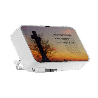 (Personalize) Holy Cross at Sunset Speaker