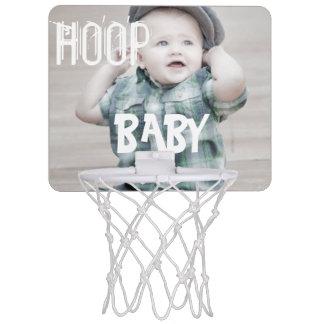 Personalize HOOP BABY Mini Basketball Hoop
