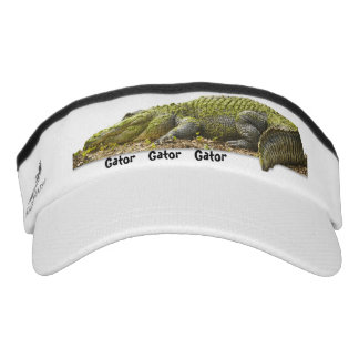 Personalize: Huge Gator Panoramic Photo - OOB Visor