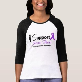 Personalize I Support Leiomyosarcoma Awareness Tee Shirt