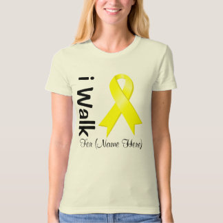 Personalize I Walk For Suicide Prevention Shirt