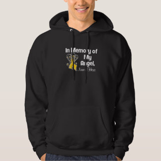 Personalize In Memory of My Angel Childhood Cancer Sweatshirt