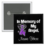 Personalize In Memory of My Angel Leiomyosarcoma Button