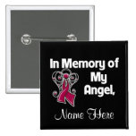Personalize In Memory of My Angel Multiple Myeloma Button