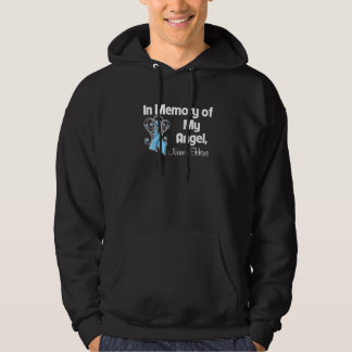 Personalize In Memory of My Angel Prostate Cancer Pullover