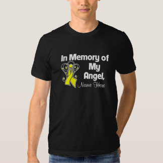 Personalize In Memory of My Angel Sarcoma Tee Shirt