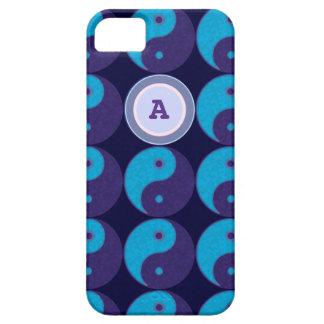 personalize initial yin-yang yoga iPhone SE/5/5s case