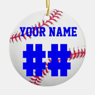 Personalize It, Baseball Ceramic Ornament