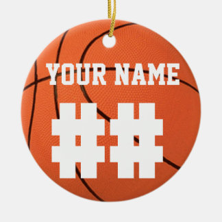 Personalize It, Basketball Christmas Tree Ornament
