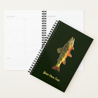 Personalize It! Brook Trout Fish Planner