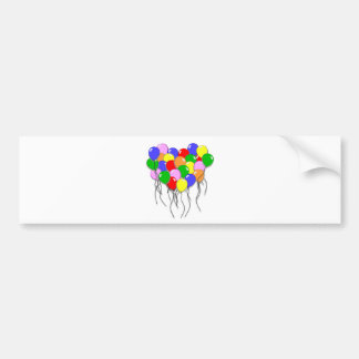 Personalize It - Bunch of Balloons Bumper Sticker