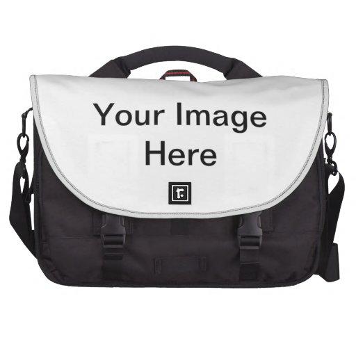 Personalize it ! laptop commuter bag