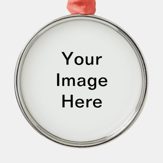 Personalize it ! metal ornament