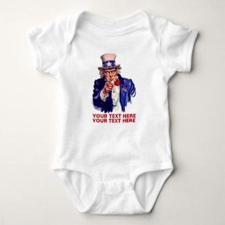 Personalize It Uncle Sam Shirt