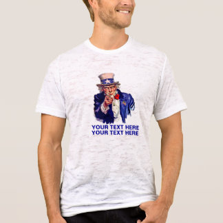 Personalize It Uncle Sam T-Shirt