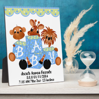 Personalize  Keepsake for Childs birth Your Plaque