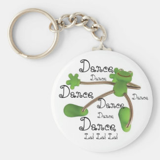 Personalize Key Chain Keychain - Dancing Frog