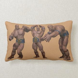 Personalize Kids Wrestling American MoJo Pillow