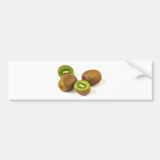 Personalize Kitchen Kiwis Fruit Congratulations Car Bumper Sticker