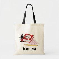 school, education, teacher, tote, bag, tote-bag, birthday, party, custom, Bag with custom graphic design