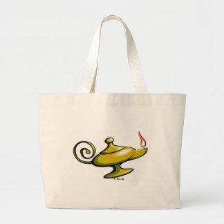 Personalize Magic Lamp Tote Bag
