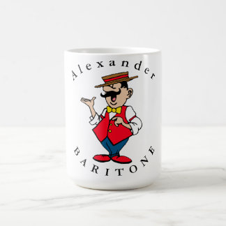 Personalize Male Singer Coffee Mug