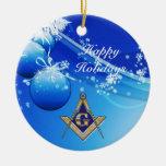 Personalize Masonic Emblem Ornament