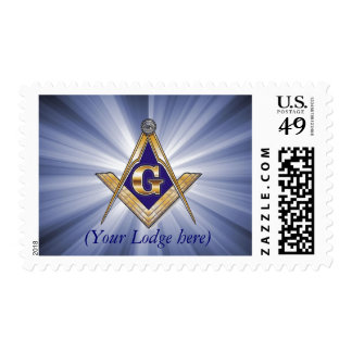 Personalize Masonic Emblem Postage