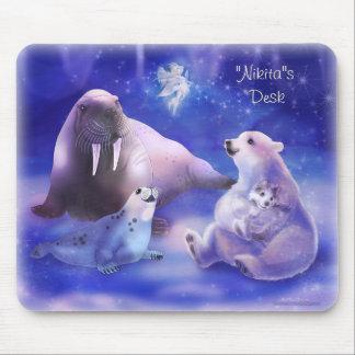Personalize me Arctic Friends Mousepads