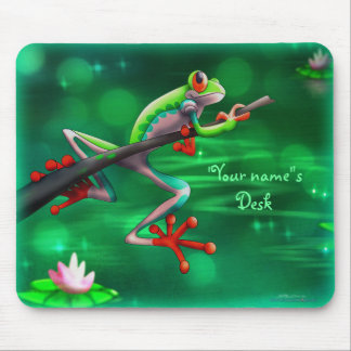 Personalize Me Froggy Mousepads