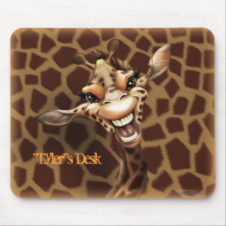 Personalize me Giraffe Mouse Pads