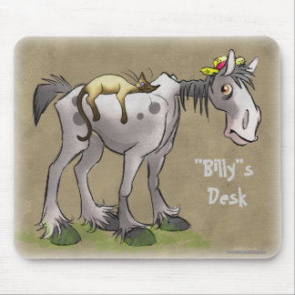 Personalize me Horse and Kitty Mousepads