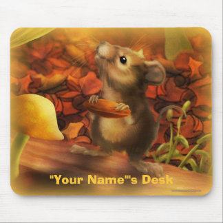 Personalize me Mouse and Nut Mouse Pads