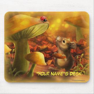 Personalize me Mouse Lady Bug Mousepad