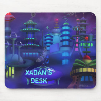 Personalize me Space City Mousepads
