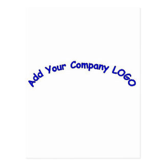 PERSONALIZE me with your CUSTOMER COMPANY LOGO!! Postcard