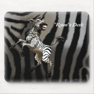 Personalize me Zebra Mousepads