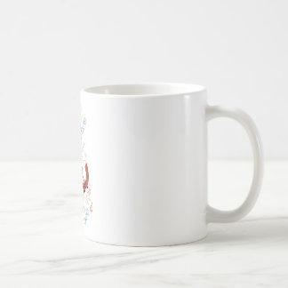 Personalize Modern Fox  Woodland Pattern Mug