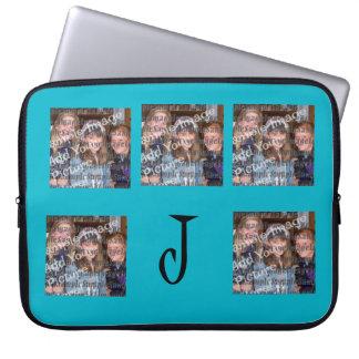 Personalize Monogram/Pics Laptop Sleeve